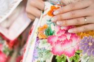 和婚 ネイル 神社挙式 結婚式 アイテム
